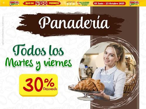 30% Descuento- Los Martes Y Viernes Panadería Canasta